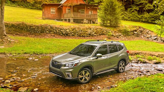 Subaru Forester 2021 ra mắt, nâng cấp trang bị và an toàn, giá từ 598 triệu VND - 1