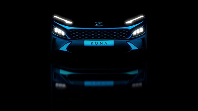 Hyundai Kona 2021 lộ thiết kế, có thêm bản hiệu suất cao - 1