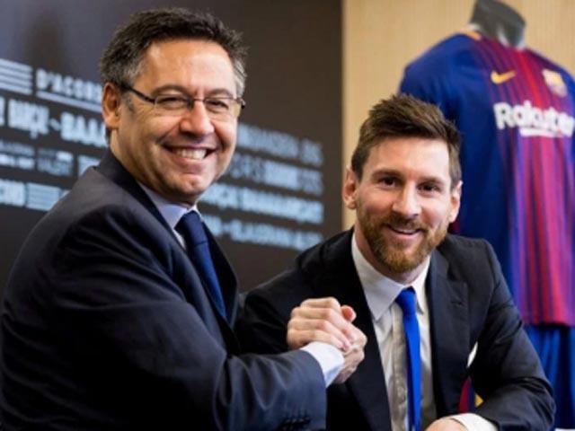 """NÓNG: """"Ông trùm"""" Barca sẵn sàng từ chức vì Messi, ra yêu sách đầy toan tính - 1"""