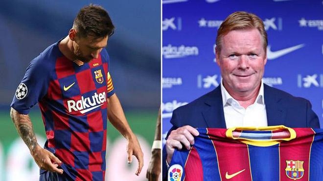 Biến mới ở Barca: Koeman phạt Messi ra sao nếu không đến CLB ngày 30/8? - 1
