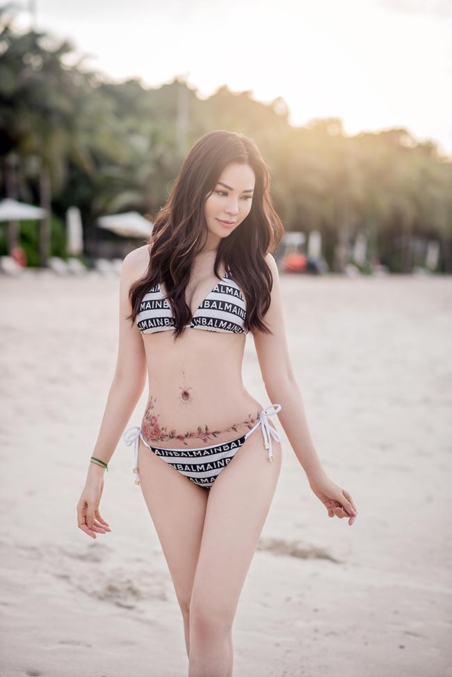 Sau 14 ngày cách ly theo quy định, Đào Lan Phương đã có chuyến nghỉ dưỡng ởPhú Quốc cùng hội chị em thân thiết.