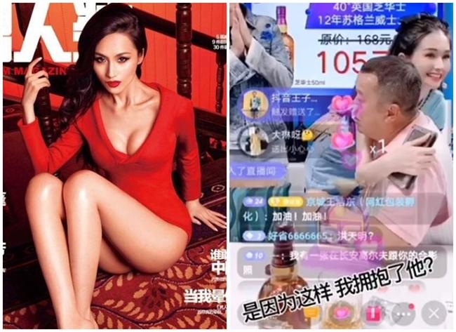 """Cuối tháng 7 vừa qua """"ông trùm"""" Tăng Chí Vỹ trở thành tâm điểm của truyền thông Hong Kong khi livestream bán các loại đồ uống có cồn trên nền tảng Douyin (Trung Quốc dùng Douyin, còn quốc tế sử dụng ứng dụng Tik Tok trong đó có Việt Nam). Tờ HK01 cho biết, ông trùm khét tiếng xứ Cảng chỉ livestream hơn 5 phút nhưng thu hút hơn 10 triệu lượt xem và đạt doanh thu khủng hơn 15,5 triệu HKD (hơn 46 tỷ VND). Trong buổi livestream của Tăng Chí Vỹ còn có sự xuất hiện của cô đào phim 18+ Lam Yến (nay đã đổi nghệ danh thành Lam Tâm Nghiên). Hành động ôm ấp tình tứ của Lam Yến và Tăng Chí Vỹ thu hút sự chú ý của người xem."""