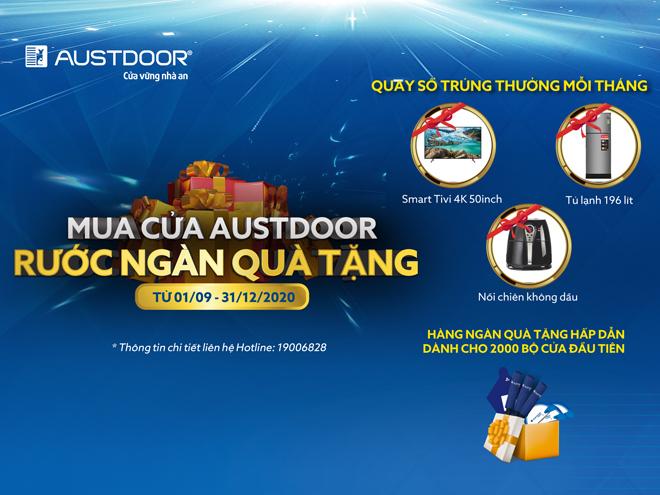 Lắp cửa Austdoor nhận quà siêu hấp dẫn - 1