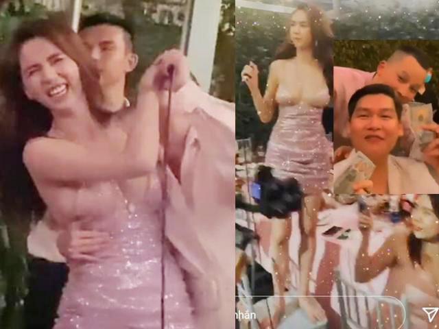 Đời sống Showbiz - Tình cũ tỷ phú Hoàng Kiều tặng tiền khách dự tiệc mừng Instagram top 2 Việt Nam