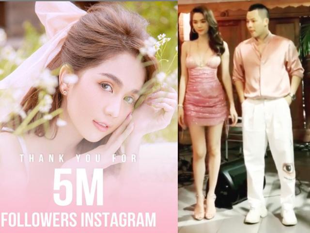 Tình cũ tỷ phú Hoàng Kiều tặng tiền khách dự tiệc mừng Instagram top 2 Việt Nam - 1