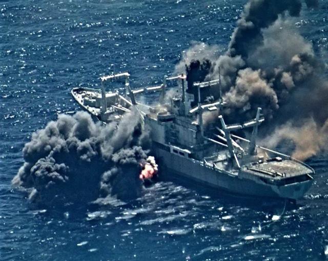 Video: Tên lửa chống hạm Mỹ xuyên thủng tàu đổ bộ trong tập trận RIMPAC - 1