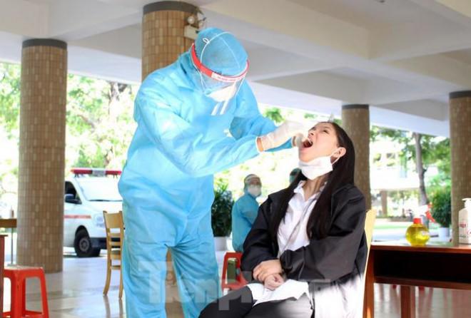 Kết quả các mẫu xét nghiệm SARS-CoV-2 của thí sinh dự kỳ thi tốt nghiệp THPT - 1