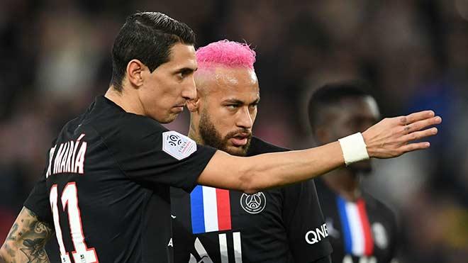PSG náo loạn vì Covid-19: Neymar và Di Maria đều dương tính với Covid-19 - 1