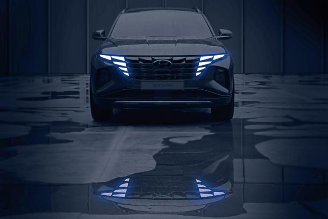"""Hyundai tiếp tục """"nhá hàng"""" Tucson 2021 trước thềm ra mắt chính thức - 1"""