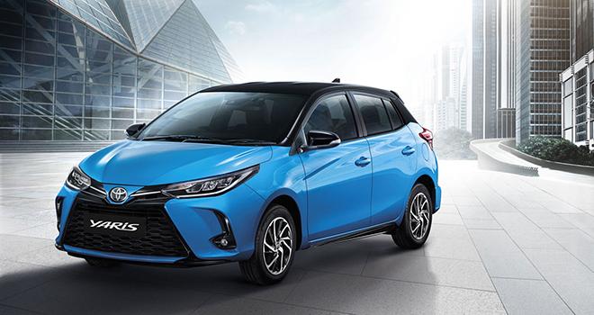 Đại lý nhận cọc Toyota Yaris 2021, đợi về Việt Nam đấu Honda Jazz - 1