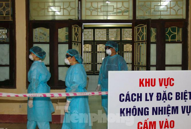 Bệnh nhân ở Hà Nam bất ngờ dương tính với SARS-CoV-2 khi sắp xuất viện - 1