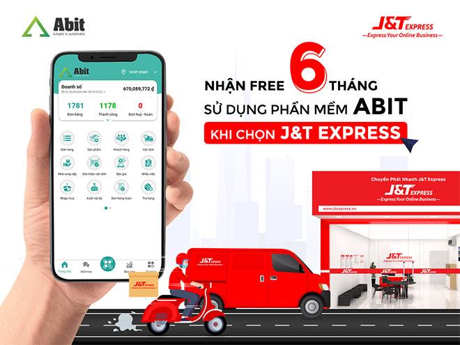Abit chính thức kết nối chuyển phát nhanh J&T Express trên phần mềm - 1