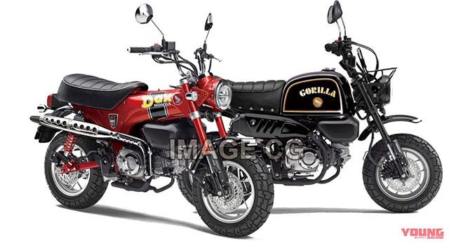"""Honda lên kế hoạch đưa bộ đôi """"quỷ nhỏ"""" GORILLA 125 và DAX 125 tới thị trường - 1"""