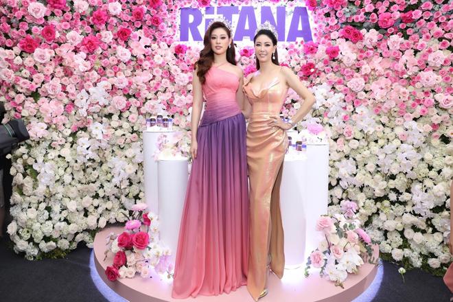 Bộ đôi Hoa hậu Khánh Vân - Hà Kiều Anh làm đại sứ cho thương hiệu chăm sóc da mới - 1