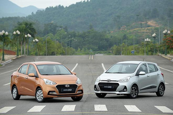 Hyundai Grand i10 giảm giá, quyết đấu với VinFast Fadil - 1