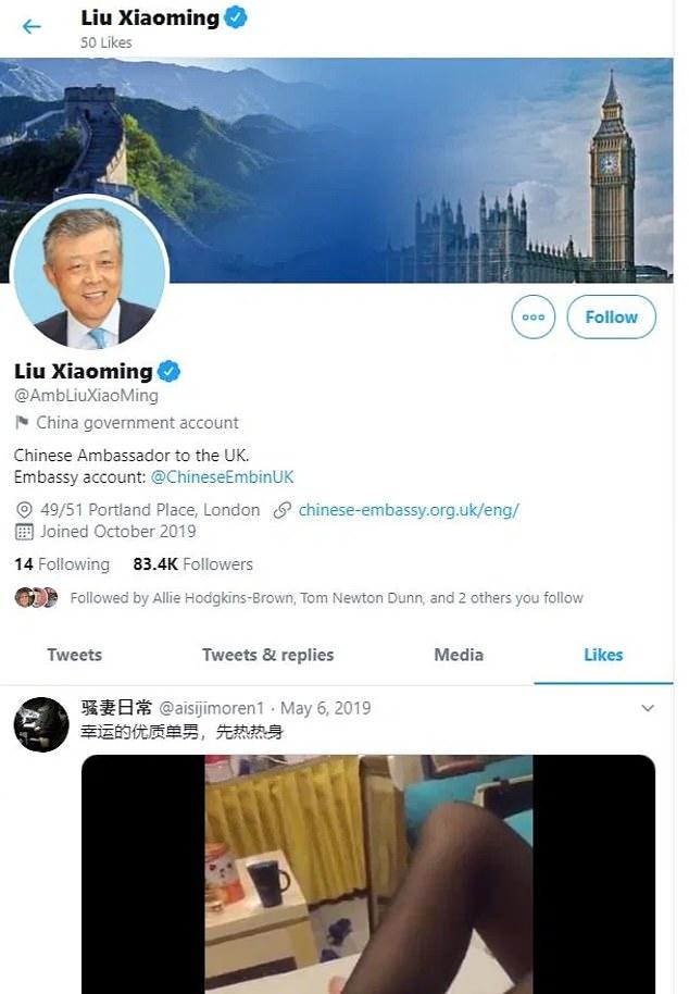 Twitter của đại sứ