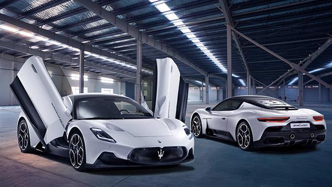 Siêu xe hoàn toàn mới của thương hiệu Maserati chính thức ra mắt - 1