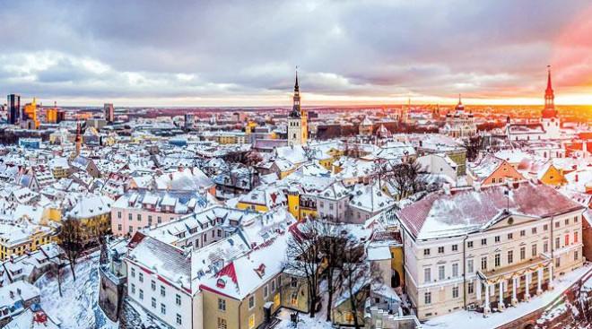 Tallinn - thành phố lãng mạn - 1