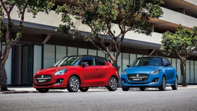 Suzuki Swift 2021 giá từ 444 triệu đồng được nâng cấp những gì? - 1