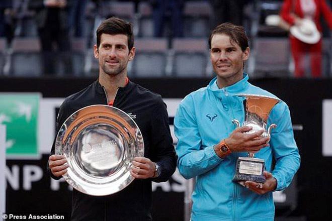 Tennis 24/7: Djokovic dễ thở, Nadal sớm gặp thử thách lớn ở Rome Masters - 1