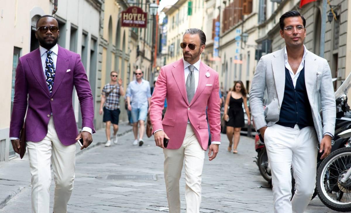 Bí quyết mặc màu hồng cho các quý ông - 1