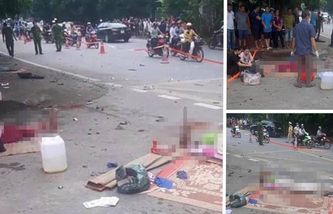 3 người phụ nữ tử vong sau tai nạn kinh hoàng - 1