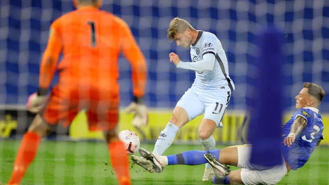 Chelsea đại thắng: Tân binh Werner ghi điểm, tung hô người hùng Reece James - 1