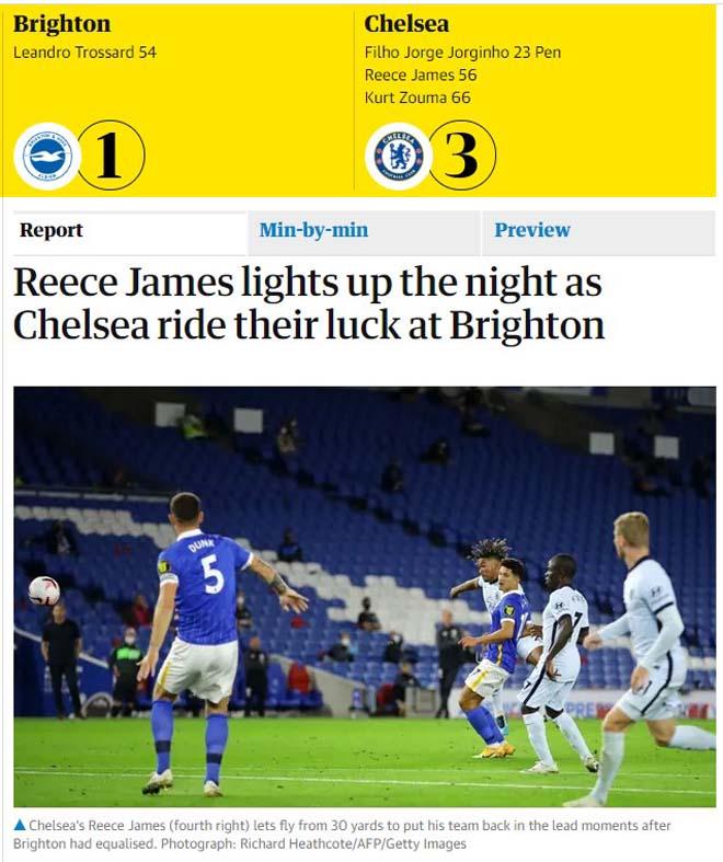 Chelsea đại thắng: Tân binh Werner ghi điểm, tung hô người hùng Reece James - 4