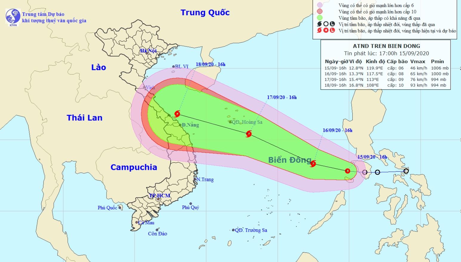 Áp thấp nhiệt đới đã đi vào Biển Đông, khả năng mạnh lên thành bão - 1