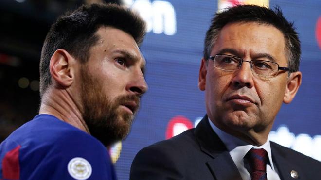 """Barca - Messi lại căng thẳng: Chủ tịch """"mặt dày"""" đòi M10 giảm lương vì lý do gì? - 1"""