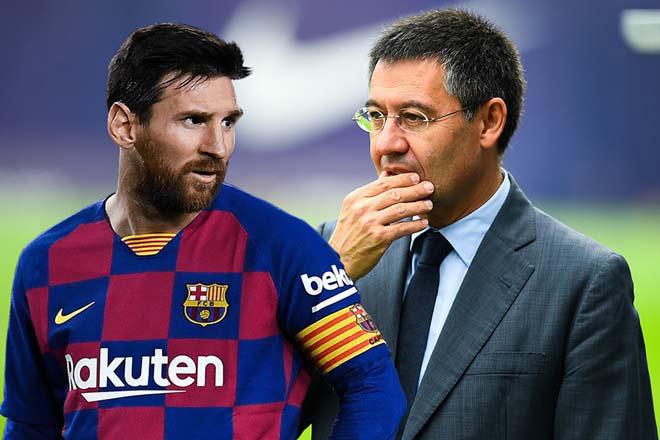 """Barca - Messi lại căng thẳng: Chủ tịch """"mặt dày"""" đòi M10 giảm lương vì lý do gì? - 2"""
