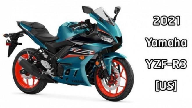 Yamaha R3 2021 bổ sung thêm màu mới, ra mắt cuối năm nay - 1