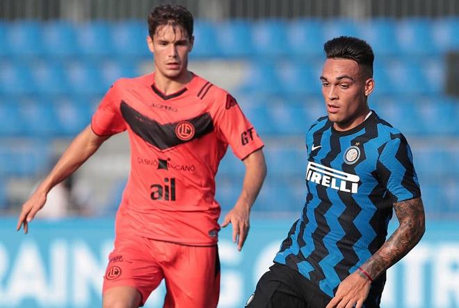 Video highlight trận Inter - Lugano: Đại tiệc 5 bàn, Martinez tỏa sáng - 1
