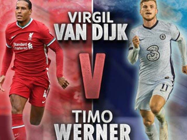 """Liverpool lâm nguy đấu Chelsea: """"Tử huyệt"""" Van Dijk toang vì """"máy chạy"""" Werner? - 1"""