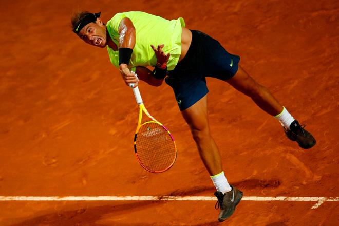 Video tennis Nadal - Carreno-Busta: Tốc hành 74 phút, 2 set chóng vánh (Vòng 2 Rome Masters) - 1