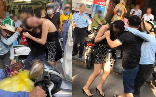 """Cô gái đi xe Lexus LX570 bị đánh ghen: Công an """"dò"""" số điện thoại 3 người liên quan - 1"""