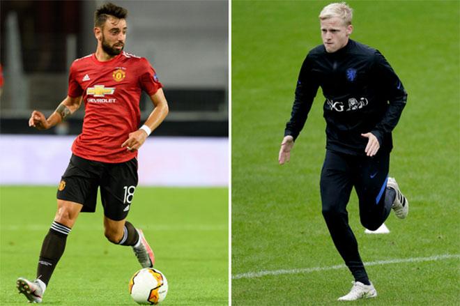 MU xung trận Ngoại hạng Anh: Có thăng hoa nhờ Fernandes và Van de Beek? - 1