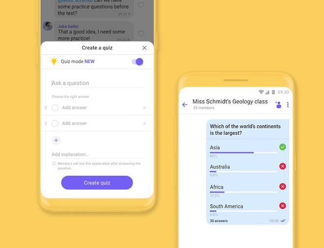 Cách tạo khảo sát, câu hỏi đố vui trong nhóm chat bằng Viber - 1