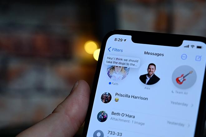Chinh phục tính năng iMessage hấp dẫn của iOS 14 - 1
