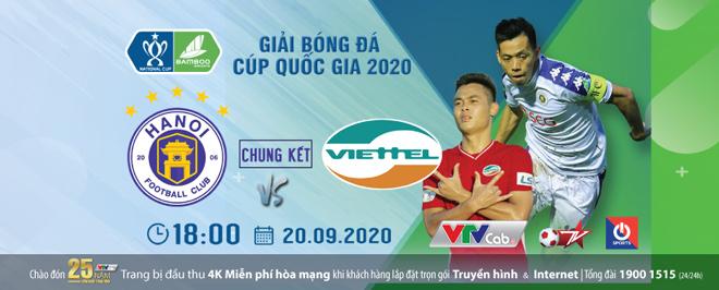 Lịch thi đấu bóng đá chung kết Cúp Quốc gia Việt Nam 2020: Hà Nội vô địch - 1