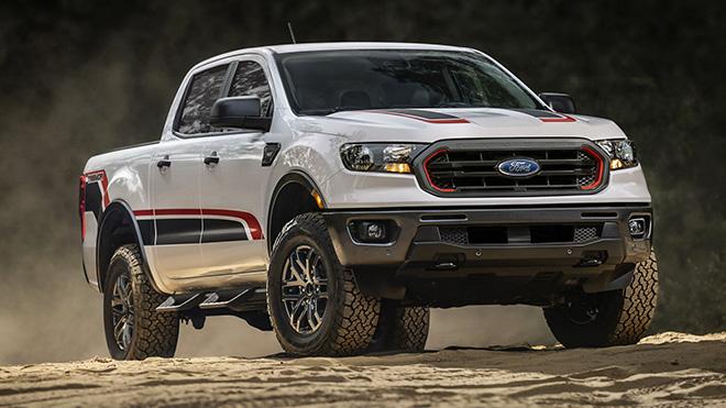 Xe bán tải Ford Ranger có thêm gói độ Tremor tại Bắc Mỹ - 1
