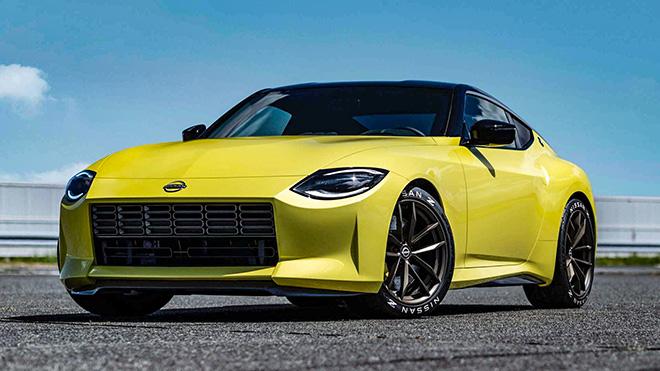 Xe ý tưởng Nissan Z Proto lộ ảnh trước ngày ra mắt - 1
