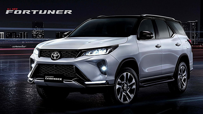 Giá lăn bánh các phiên bản xe Toyota Fortuner mới tại thị trường Việt Nam - 1