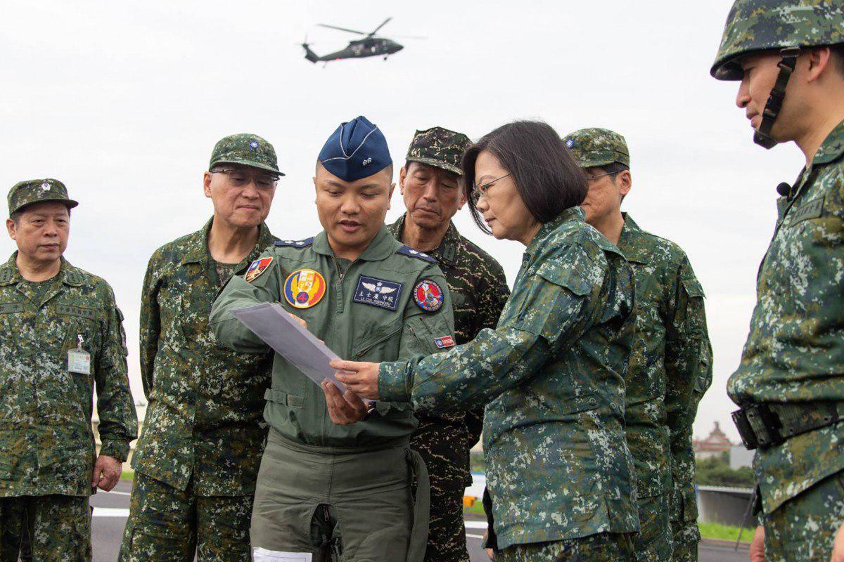 """TQ liên tục tập trận thực chiến """"sát nách"""", lãnh đạo Đài Loan chính thức lên tiếng - 1"""