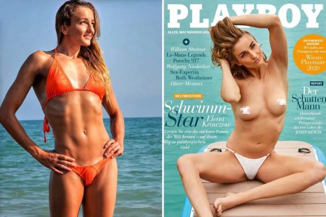 Xôn xao vận động viên khuyết tật xinh đẹp lên bìa tạp chí Playboy - 1