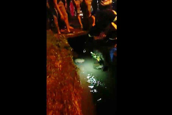 Cô gái bị nước xoáy cuốn vào cống, mất tích ở Đồng Nai - 1