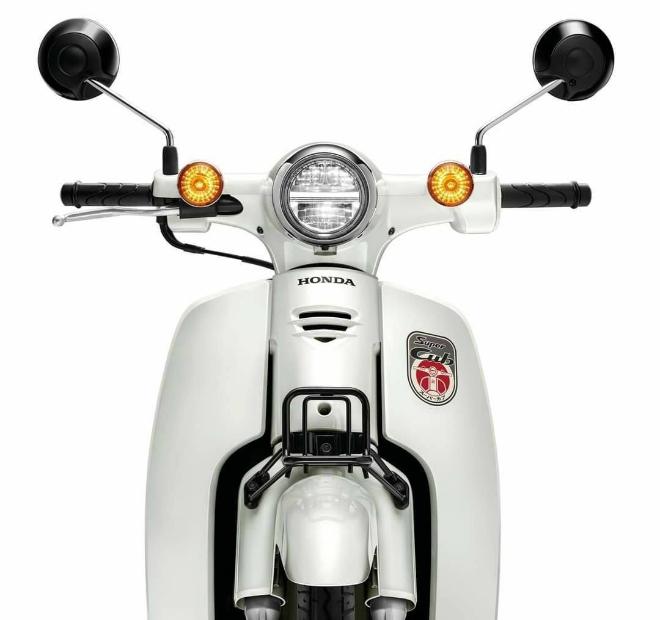 Ảnh chi tiết Honda Super Cub mới, mang động cơ thông minh - 1