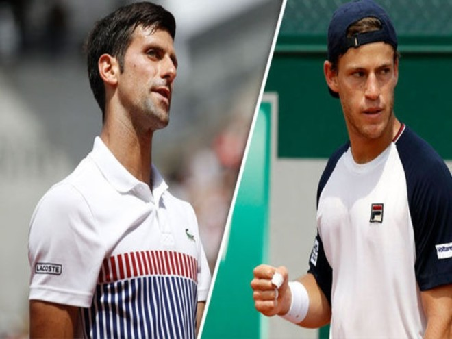 """Đỏ lửa so tài chung kết Rome Masters: Djokovic đấu """"tí hon"""" 1m70 loại Nadal - 1"""