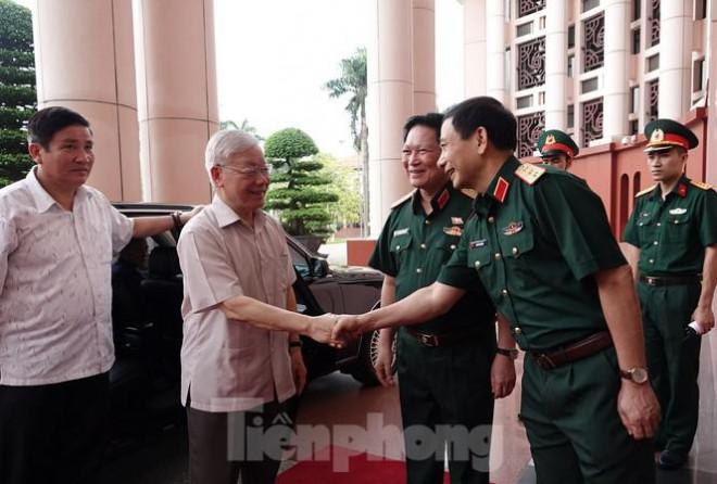 Tổng Bí thư, Chủ tịch nước trực tiếp chỉ đạo Đại hội Đảng bộ Quân đội - 1