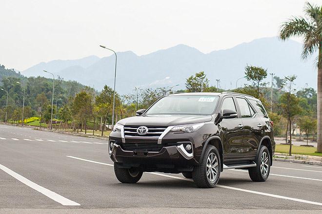 """Toyota Fortuner đời 2019 """"xả kho"""" giảm giá tới 200 triệu đồng - 1"""